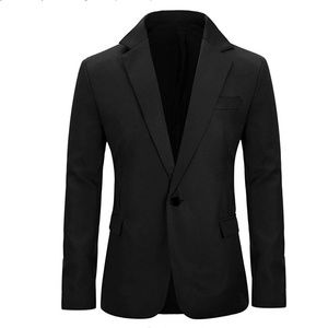 Other - YUNCLOS Men's Slim Fit Casual 1 Button Blazer